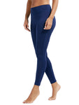 Dark Blue Yoga Pants - dh Garment