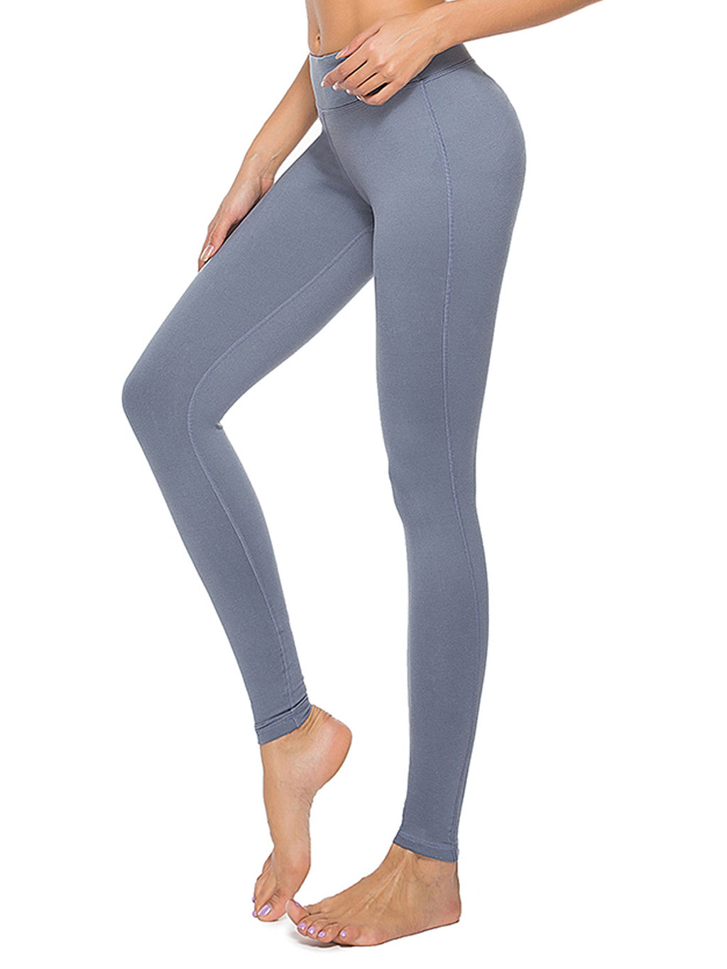 Grey Yoga Pants - dh Garment