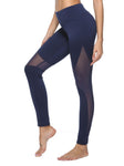 Blue Mesh Leggings - dh Garment