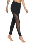 Mesh Yoga Pants - dh Garment