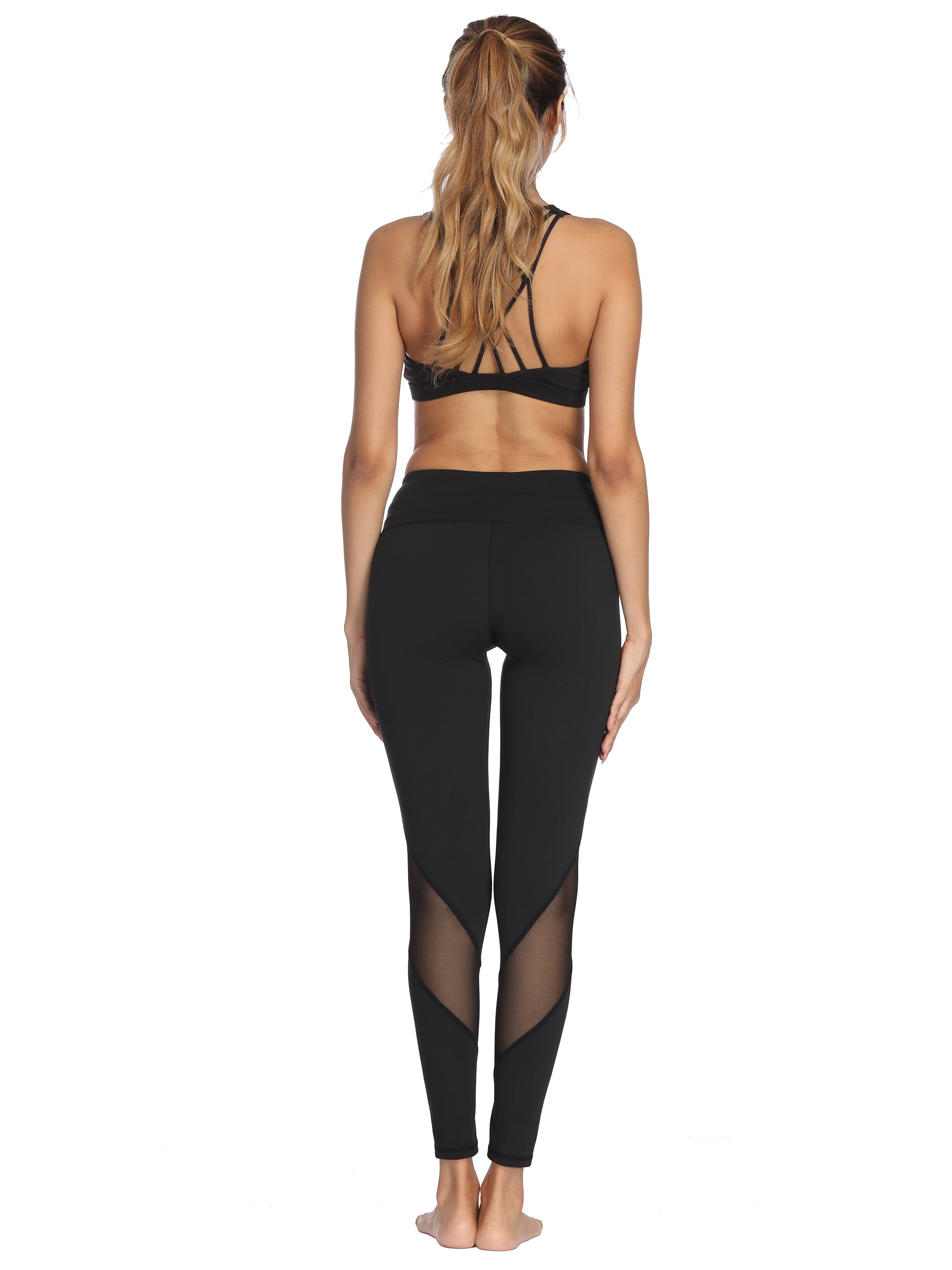 Mesh Leggings - dh Garment
