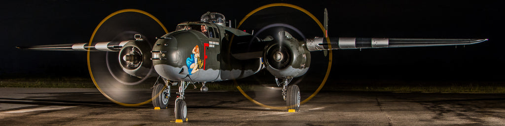 "Extra Wide 120"" x 30"" B-25 Giant Image Wall Art"