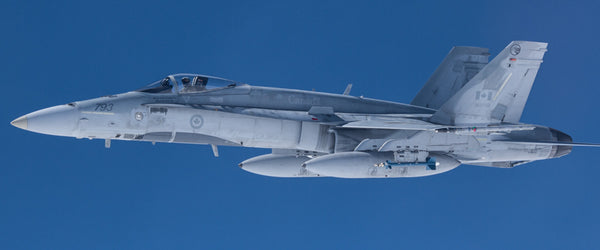 "CF-18 Hornet Profile 72"" x 30"" Giant Image Wall Art"