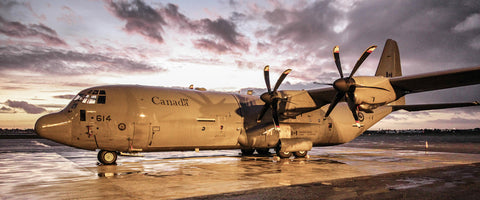 "C-130J Super Hercules at CRUZEX 72"" x 30"" Giant Image Wall Art"