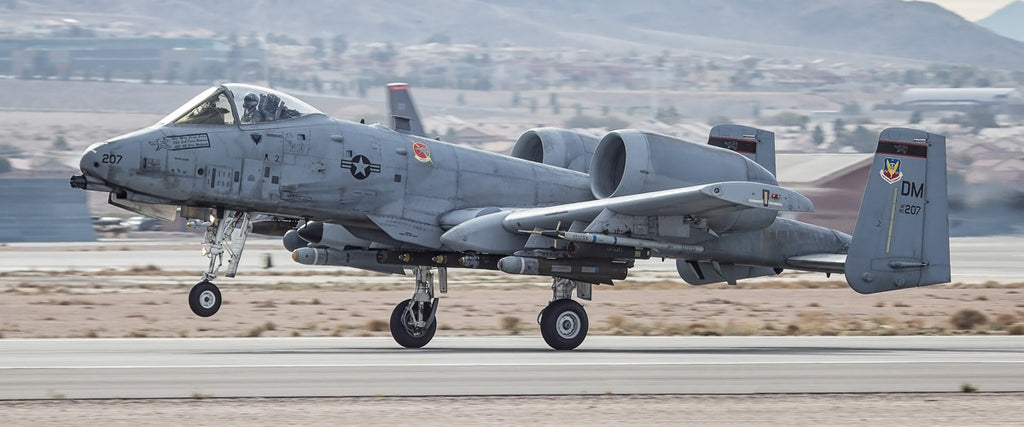 "A-10 Warthog 72"" x 30"" Giant Image Wall Art"