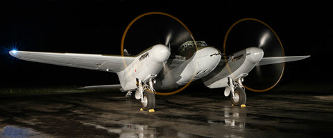 "de Havilland Mosquito 72"" x 30"" Giant Image Wall Art"