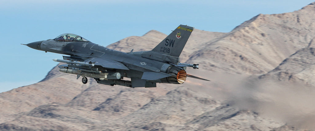 "F-16 Viper 72"" x 30"" Giant Image Wall Art"