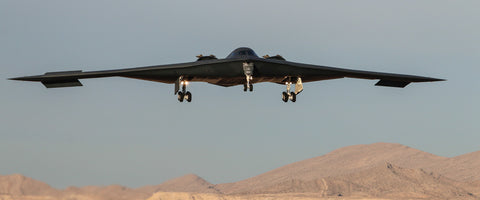 "B-2 Spirit Bomber 72"" x 30"" Giant Image Wall Art"