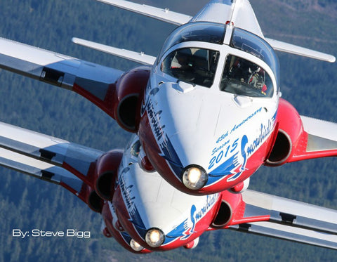 45th Anniversary 2015 Snowbirds Photo Journal Book