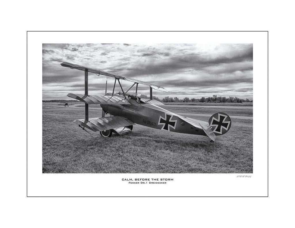 """Calm Before The Storm"" Fine Art Aviation Print"