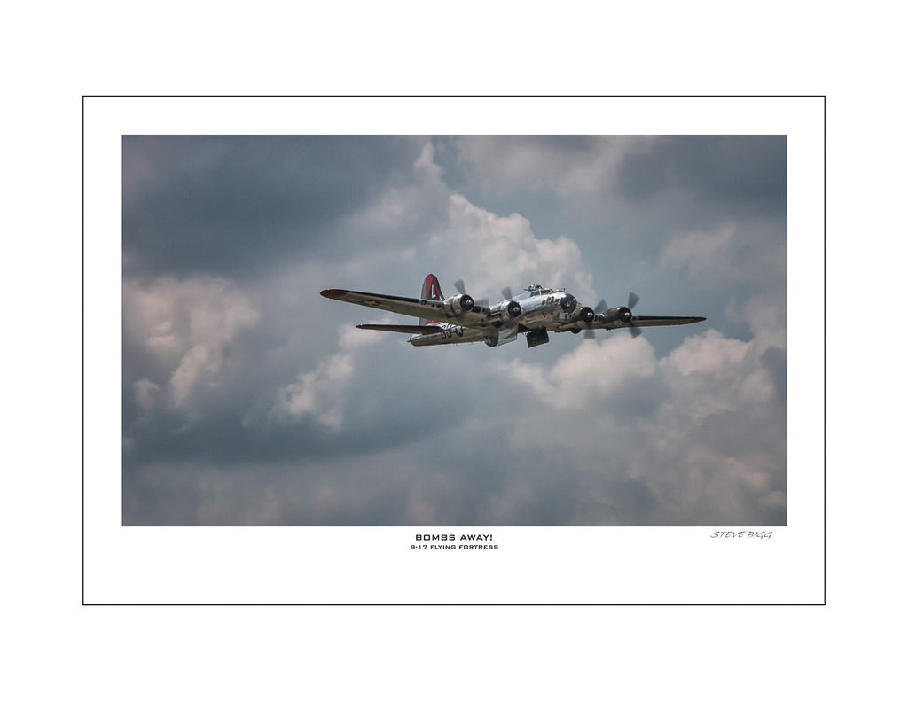 """Bombs Away"" Fine Art Aviation Print"