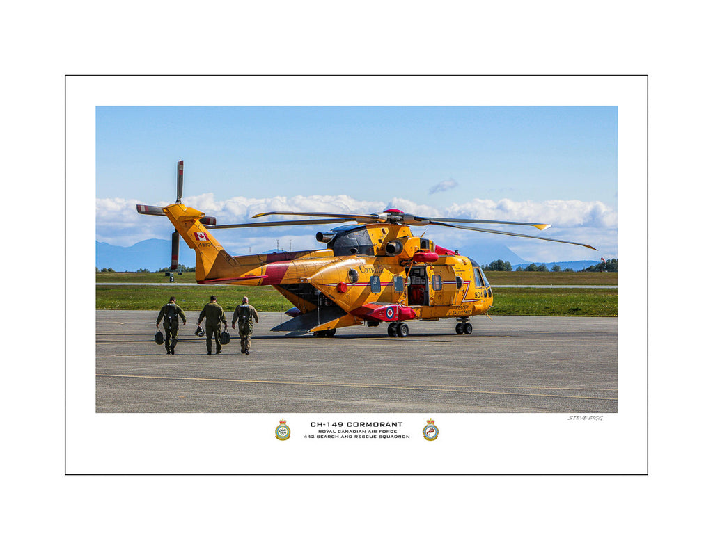 """CH-149 Cormorant"" Fine Art Aviation Print"