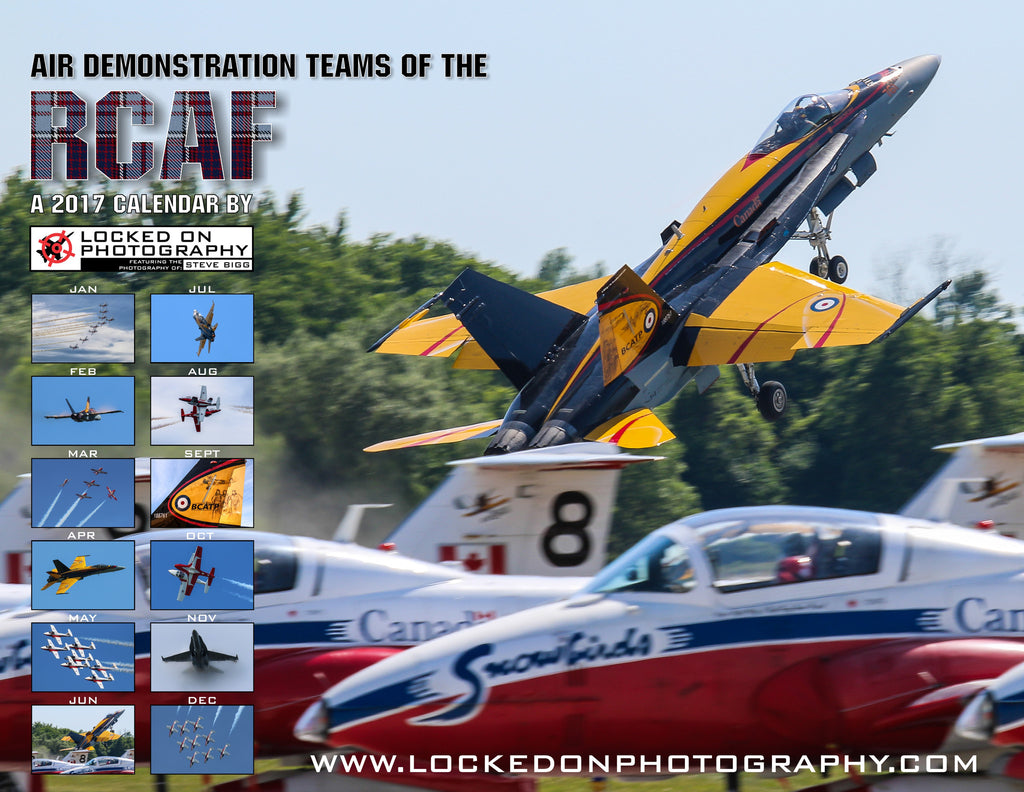 Air Demonstration Teams of the RCAF: 2017 A Photo Wall Calendar