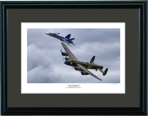 """Time Travels"" Fine Art Aviation Print"