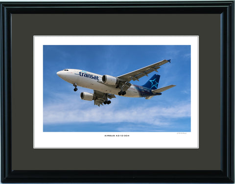 """Airbus A310-304"" Fine Art Aviation Print"