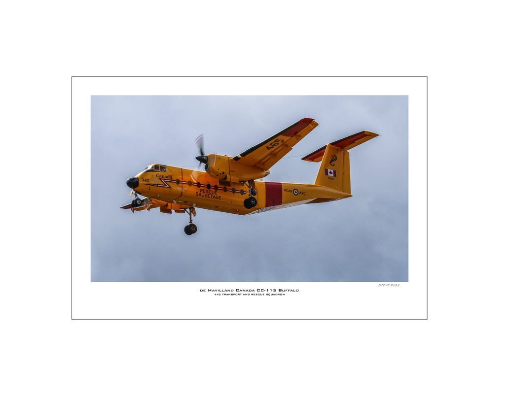 """De Havilland CC-115 Buffalo"" Fine Art Aviation Print"