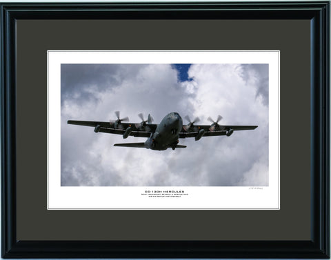 """CC-130H Hercules"" Fine Art Aviation Print"