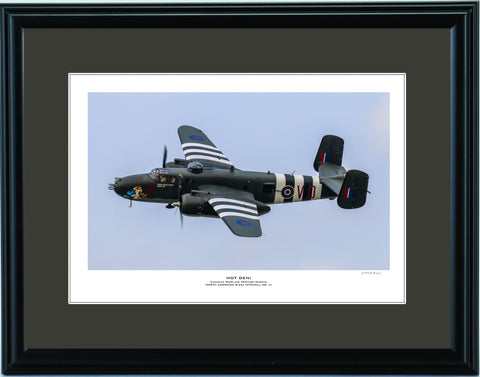 """Hot Gen!"" Fine Art Aviation Print"