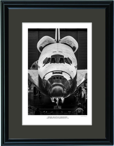 """Space Shuttle Discovery"" Fine Art Aviation Print"