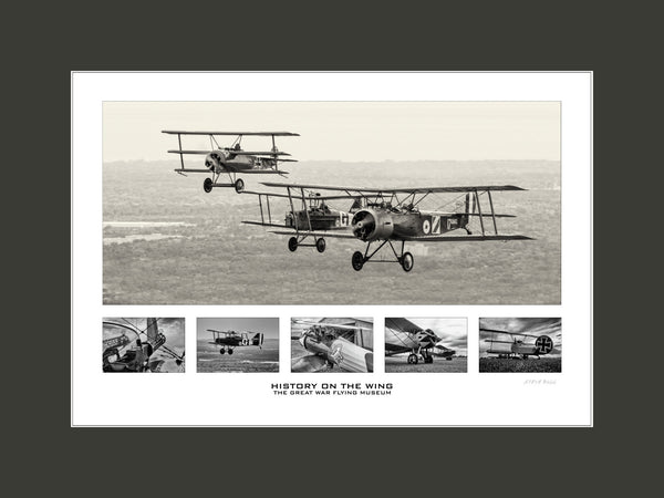 """History On The Wing"" Fine Art Aviation Print"
