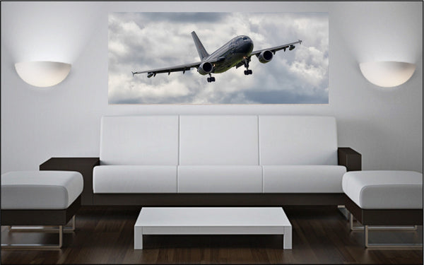 "CC-150T Polaris Tanker On Approach 72"" x 30"" Giant Image Wall Art"