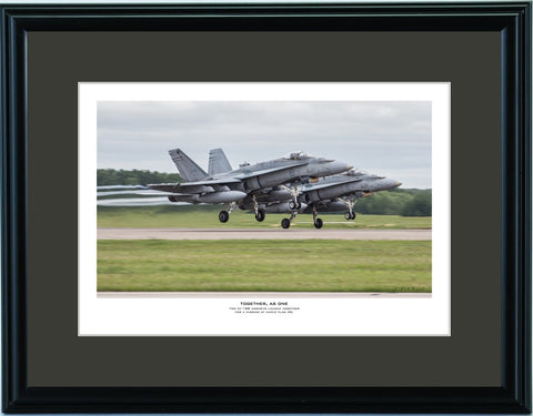 """Together, As One"" Fine Art Aviation Print"