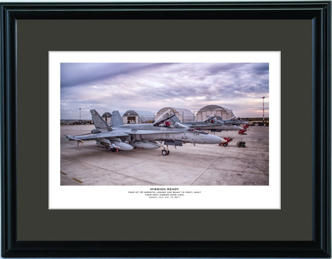 """Mission Ready"" Fine Art Aviation Print"