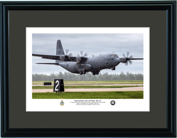 """Canucks Unlimited: 2013"" Fine Art Aviation Print"