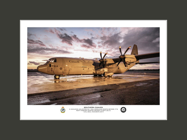 """Southern Canuck"" Fine Art Aviation Print"