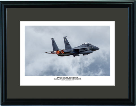 """Sword Of The Buccaneer"" Fine Art Aviation Print (Version B)"