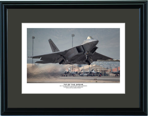 """Tip Of The Spear"" Fine Art Aviation Print"