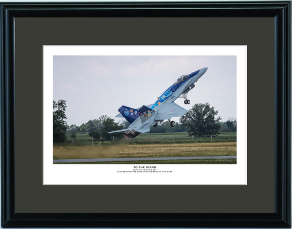 """To The Stars"" Fine Art Aviation Print (Version A)"
