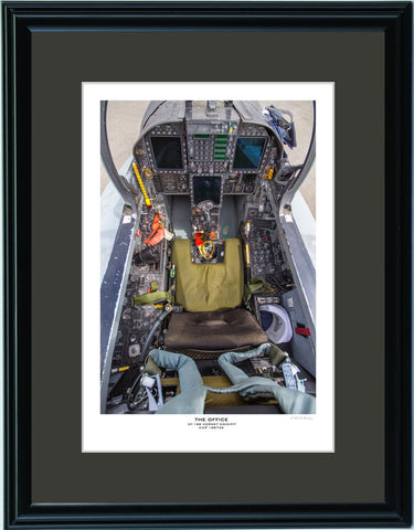 """The Office"" Fine Art Aviation Print (Portrait)"