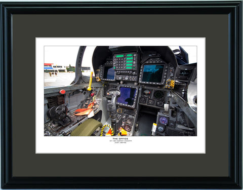 """The Office"" Fine Art Aviation Print (Landscape)"
