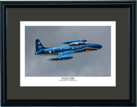 """Shark Pass"" Fine Art Aviation Print"