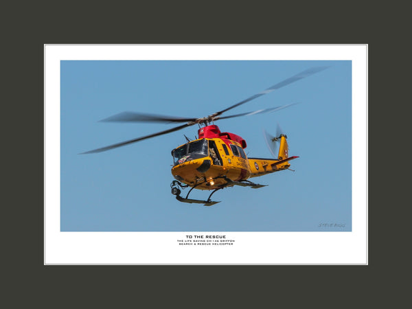 """To The Rescue"" Fine Art Aviation Print"