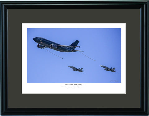 """Fuelling The Fight"" Fine Art Aviation Print"
