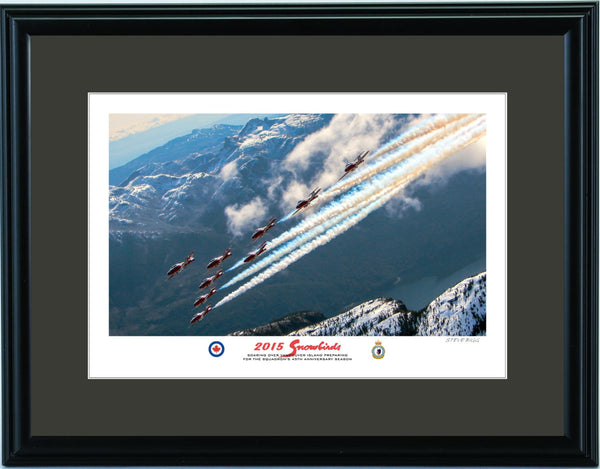 """Snowbirds"" Fine Art Aviation Print (Version A)"