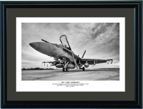 """CF-188 Hornet"" Fine Art Aviation Print"