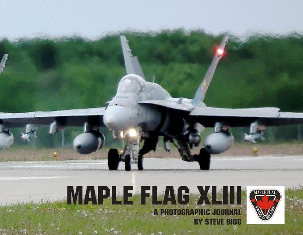 Maple Flag XLIII Photo Journal Book