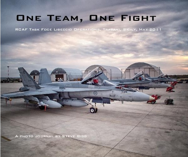 One Team, One Fight Photo Journal Book