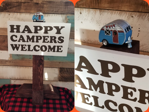 Happy Campers welcome