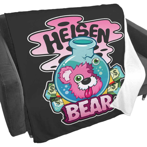 Heisenbear Fleece Blanket from Breaking Bad