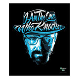 Additional image of I Am the One Who Knocks Fleece Blanket from Breaking Bad