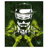 Additional image of Walter White Fleece Blanket from Breaking Bad