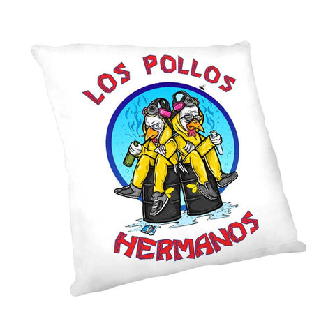 Los Pollos Hermanos Pillow from Breaking Bad