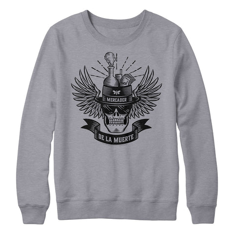 De La Muerte Gray Crewneck from Breaking Bad