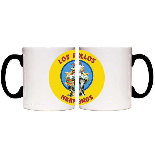 Breaking Bad Los Pollos Hermanos Transforming Mug