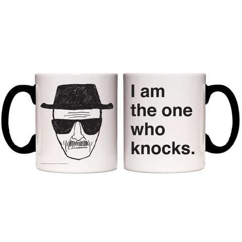 Breaking Bad I Am the One Who Knocks Transforming Mug