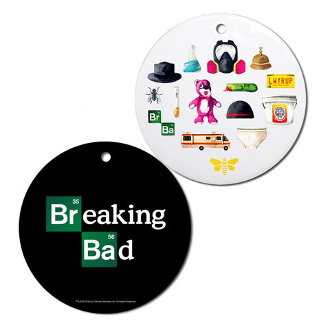 Breaking Bad Icons Ornament